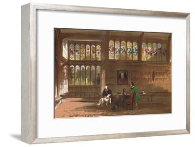 'Hall at Ockwells, Berkshire', 1845-Unknown-Framed Giclee Print