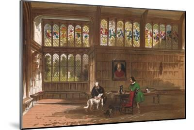 'Hall at Ockwells, Berkshire', 1845-Unknown-Mounted Giclee Print