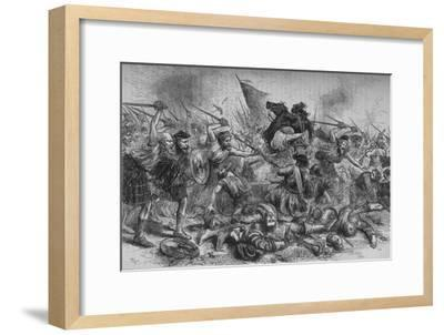 'Lochiel's Charge at Killycrankie', 27 July 1689, (c1880)-Unknown-Framed Giclee Print