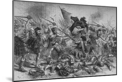 'Lochiel's Charge at Killycrankie', 27 July 1689, (c1880)-Unknown-Mounted Giclee Print