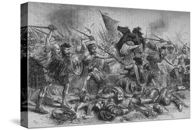 'Lochiel's Charge at Killycrankie', 27 July 1689, (c1880)-Unknown-Stretched Canvas Print