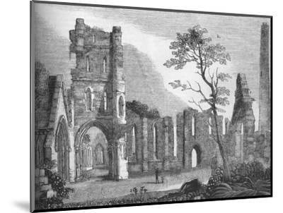 'Cathedral of Kildare', 1845-Unknown-Mounted Giclee Print