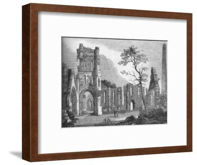 'Cathedral of Kildare', 1845-Unknown-Framed Giclee Print