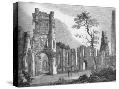 'Cathedral of Kildare', 1845-Unknown-Stretched Canvas Print
