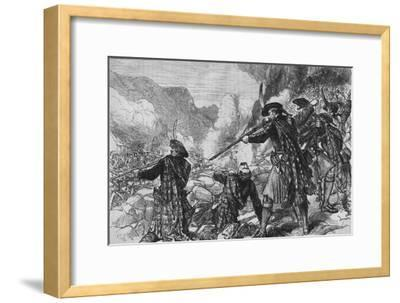 'The Battle of Glenshiel', 10 June 1719, (c1880)-Unknown-Framed Giclee Print