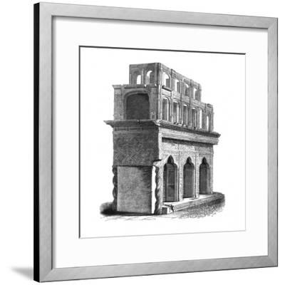 'Remains of the Shrine of Edward the Confessor, Westminster Abbey', 1845-Unknown-Framed Giclee Print