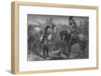 'Meeting of William III. and the Duke of Berwick', c1694, (c1880)-Unknown-Framed Giclee Print