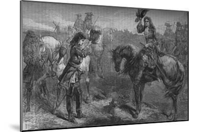 'Meeting of William III. and the Duke of Berwick', c1694, (c1880)-Unknown-Mounted Giclee Print