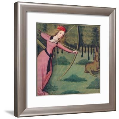 'Zenobie - Reine De Palmyre', 1403, (1939)-Master of Berry's Cleres Femmes-Framed Giclee Print