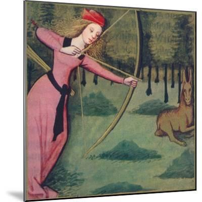 'Zenobie - Reine De Palmyre', 1403, (1939)-Master of Berry's Cleres Femmes-Mounted Giclee Print