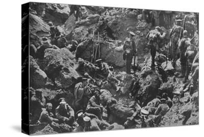 'A remarkable war photograph, mined and captured by the British', 1915-Unknown-Stretched Canvas Print
