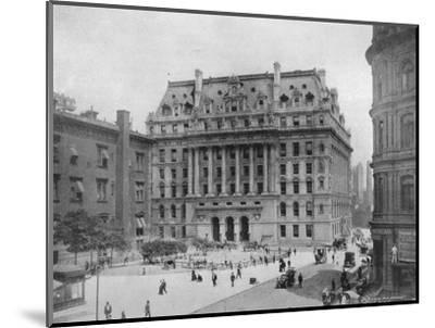 'The Hall of Records, New York', 1915-Unknown-Mounted Photographic Print