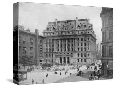 'The Hall of Records, New York', 1915-Unknown-Stretched Canvas Print