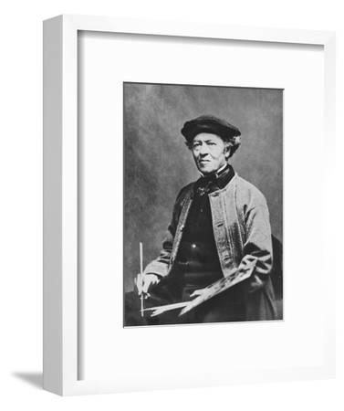 'Jean-Baptiste-Camille Corot', c1870, (1939)-Unknown-Framed Photographic Print