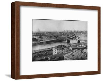 'A general view of Moscow, showing the Kremlin', 1915-Unknown-Framed Photographic Print