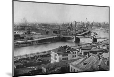 'A general view of Moscow, showing the Kremlin', 1915-Unknown-Mounted Photographic Print