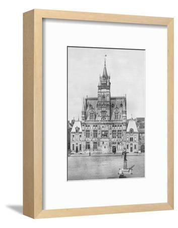 'Compiegne: The Hotel de Ville', 1914-Unknown-Framed Photographic Print
