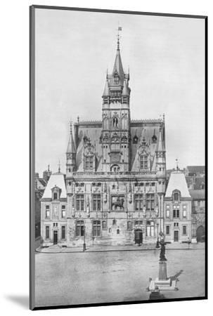 'Compiegne: The Hotel de Ville', 1914-Unknown-Mounted Photographic Print