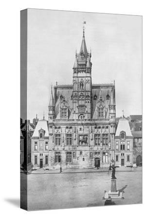 'Compiegne: The Hotel de Ville', 1914-Unknown-Stretched Canvas Print
