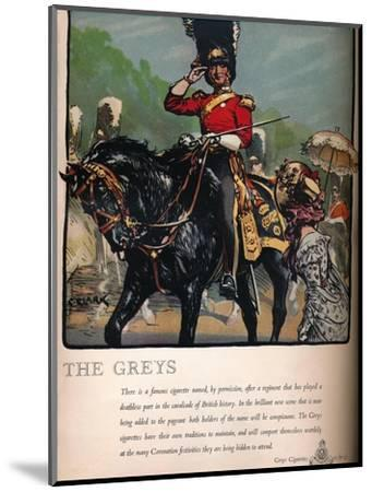 'The Greys - Greys Cigarettes', 1937-Unknown-Mounted Giclee Print