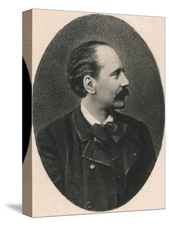 'Massenet.', 1895-Unknown-Stretched Canvas Print