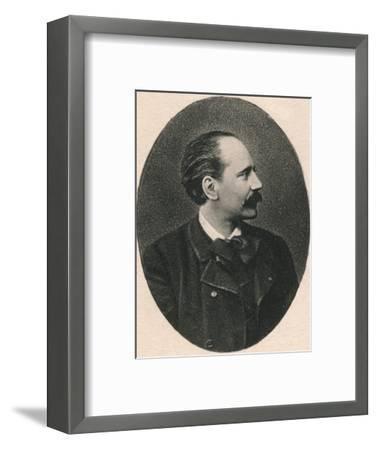'Massenet.', 1895-Unknown-Framed Photographic Print