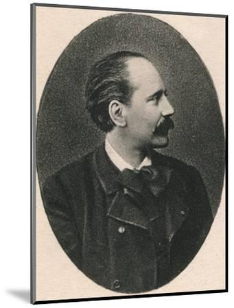'Massenet.', 1895-Unknown-Mounted Photographic Print