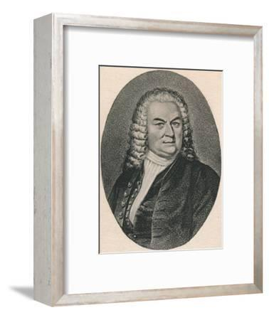 'Bach.', 1895-Unknown-Framed Photographic Print