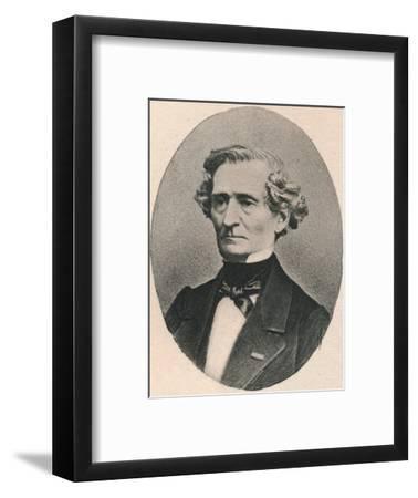 'Berlioz.', 1895-Unknown-Framed Photographic Print