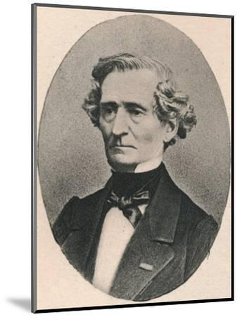 'Berlioz.', 1895-Unknown-Mounted Photographic Print