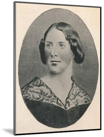 'Jenny Lind.', 1895-Unknown-Mounted Photographic Print