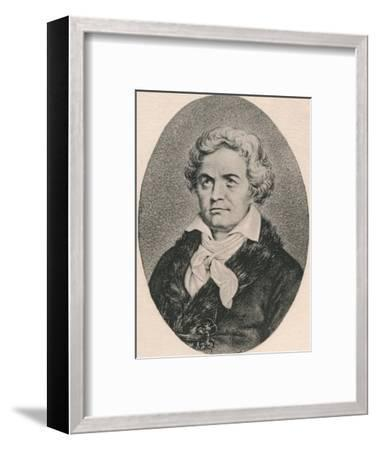 'Beethoven.', 1895-Unknown-Framed Photographic Print