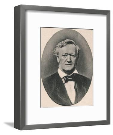 'Wagner.', 1895-Unknown-Framed Photographic Print