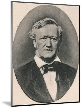 'Wagner.', 1895-Unknown-Mounted Photographic Print