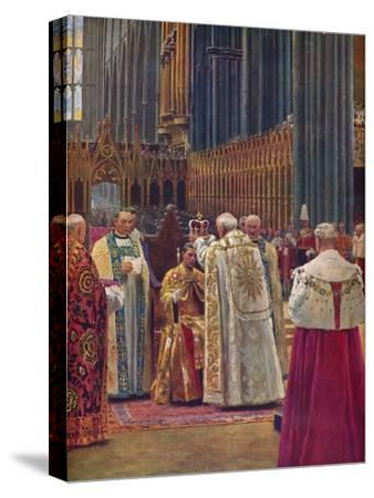 'The Crowning of the King', 1937-Unknown-Stretched Canvas Print