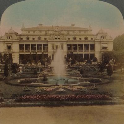 'Palm Gardens, Frankfort, Germany', 1894-Elmer Underwood-Framed Photographic Print