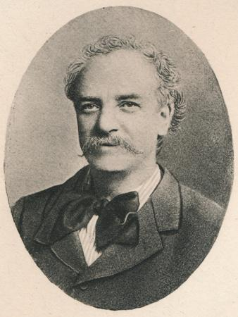 'C. Santley.', 1895-Unknown-Framed Photographic Print