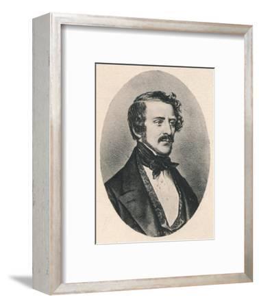 'Donizetti.', c1835, (1895)-Unknown-Framed Giclee Print