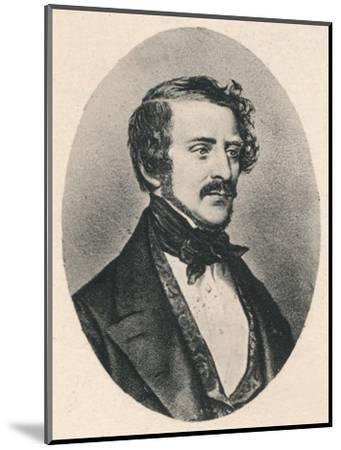 'Donizetti.', c1835, (1895)-Unknown-Mounted Giclee Print
