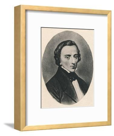 'Chopin', 1895-Unknown-Framed Photographic Print