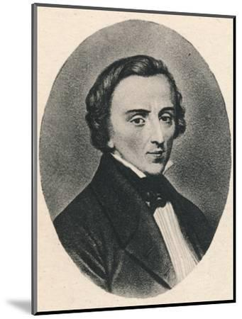 'Chopin', 1895-Unknown-Mounted Photographic Print