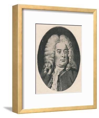 'Handel.', 1895-Unknown-Framed Photographic Print