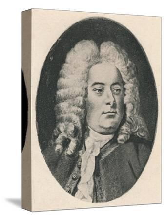 'Handel.', 1895-Unknown-Stretched Canvas Print
