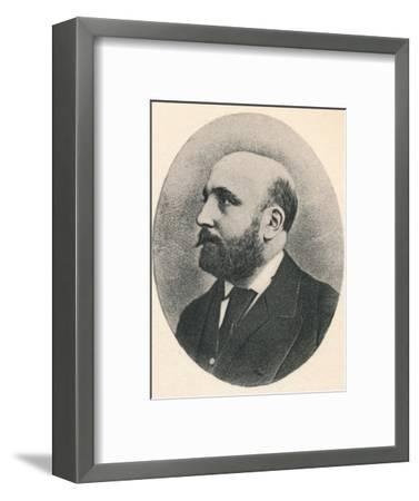 'Sir A. C. Mackenzie.', 1895-Unknown-Framed Photographic Print