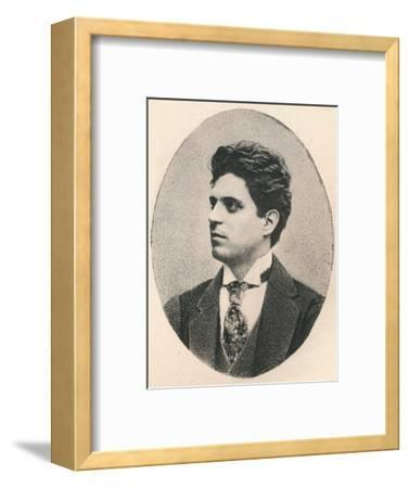 'Mascagni.', 1895-Unknown-Framed Photographic Print