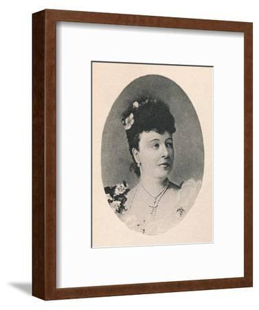 'Mme. Albani.', 1895-Unknown-Framed Giclee Print