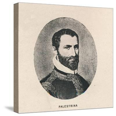 'Palestrina.', 1754, (1895)-Unknown-Stretched Canvas Print