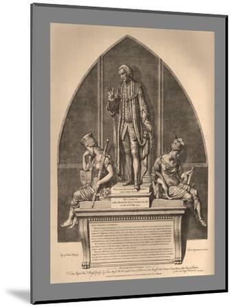 Guild Hall Monument to William Beckford, 1886-Unknown-Mounted Giclee Print