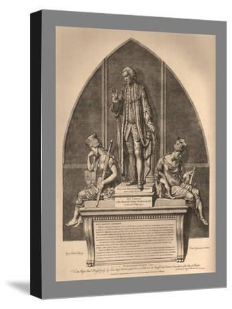 Guild Hall Monument to William Beckford, 1886-Unknown-Stretched Canvas Print
