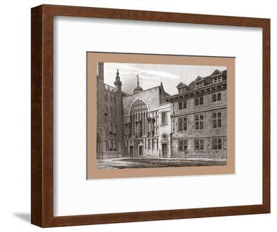 West Front of Guildhall Chapel, 1886-Unknown-Framed Giclee Print